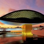 Museu Oscar Niemeyer, em Curitiba