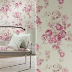 Ambiente decorado com tecido de algodão