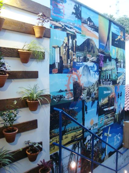 jardim vertical escada:Bento Ferreira recebe terceira edição de evento de decoração